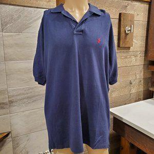 Polo Ralph Lauren XL NWT Blue Men's Button Polo